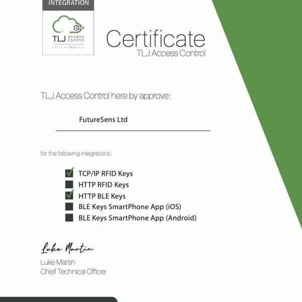 Welcoming FutureSens as certified integration partner